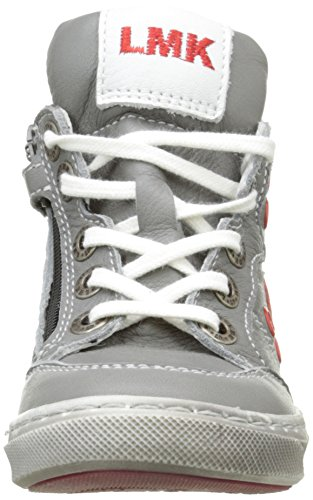 Little Mary Vitaly Jungen Sneakers Grau - Gris (Nappa Poivre)