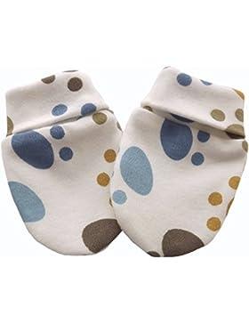 Bio Baumwolle Neugeborene Baby Anti Kratz Fäustlinge Multi Color Foot