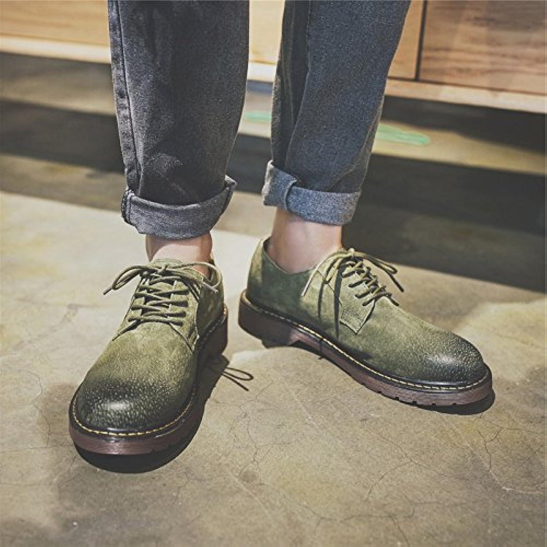 HL-PYL-Martin Zapatos Zapatos Retro All-Match bajo nuevas botas.,39,verde