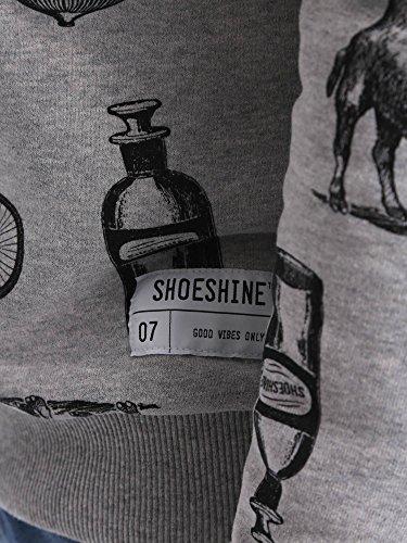 Shoeshine , Baskets pour homme Gris