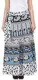 Decot Paradise Women's A-Line Skirt (SKT3145_White_Free Size)