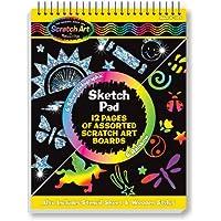 Melissa & Doug - Libro para colorear, Scratch Magic Sketch Pad (15946)