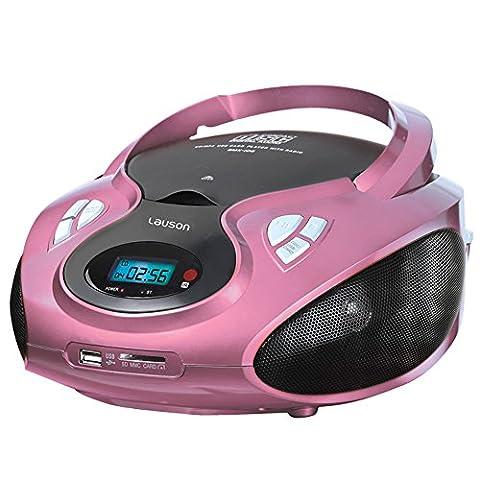 Lauson CP 438 Radiorekorder ( CD-Player,MP3 Wiedergabe