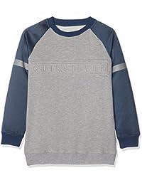Quiksilver Mebok Crew Youth Sweatshirt Long pour Garçon