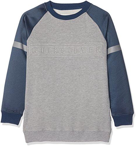 Quiksilver mebok Crew Youth Sweatshirt Lang Jungen L Highrise/Heather