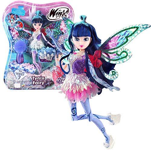 Winx Club - Tynix Fairy Puppe - Fee Musa magisches Gewand -