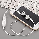 Chirde Bluetooth Kopfhörer in Ear V4.1 10 Meter Reichweite magnetisch Sport Kopfhörer Ohrhörer für iPhone, Apple Watch, Android, Echo Dot und Weitere Geräte (Weiß)