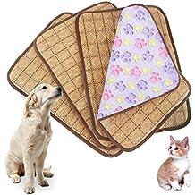 Idepet Colchoneta de refrigeración de doble uso para mascotas, para perros y gatos adultos y