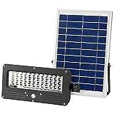 2-teilig Solarleuchten 7 Watt Solarwandleuchte mit LED Panel 700 Lumen
