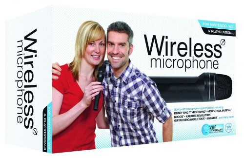 PS3 Wii Wireless Microphone