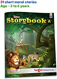 Blossom Moral Story Book for Kids 3 Years to 6 Years Old in English | 31 Fairy Tale Stories with Colourful Pic