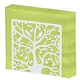 Metal Tree & Bird design portatovaglioli da tavolo/installazione tessuto dispenser s White
