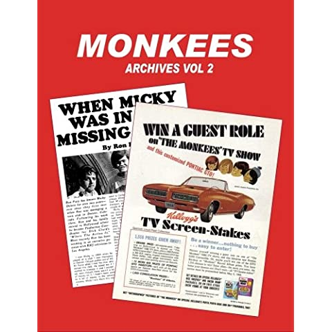 Monkees Archives Vol 2: Volume 2 - 2 Archive Music Book