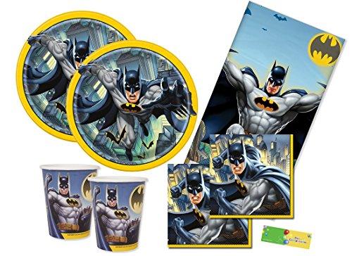 uni-que Kit n3 Batman gotham coordinato tavola compleanno