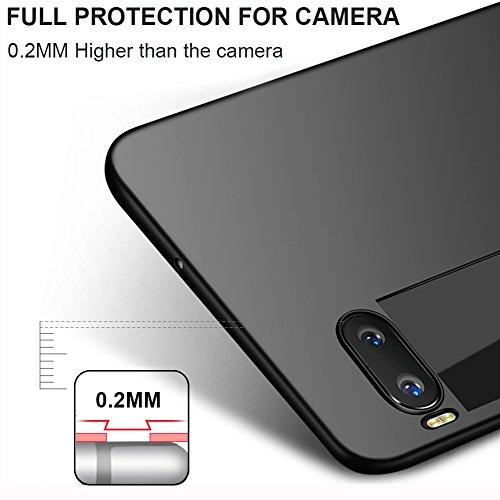 """Coque Meizu Pro 7 Plus (5.7""""), MSVII® Très Mince Coque Etui Housse Case et Protecteur écran Pour Meizu Pro 7 Plus (5.7"""") - Noir JY00337 Rouge"""