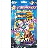 Hannah Montana Mini Magic Reveal Activity Pads / Favors (4ct)