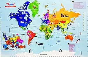 Traveller Kids Interactive World Map Kit