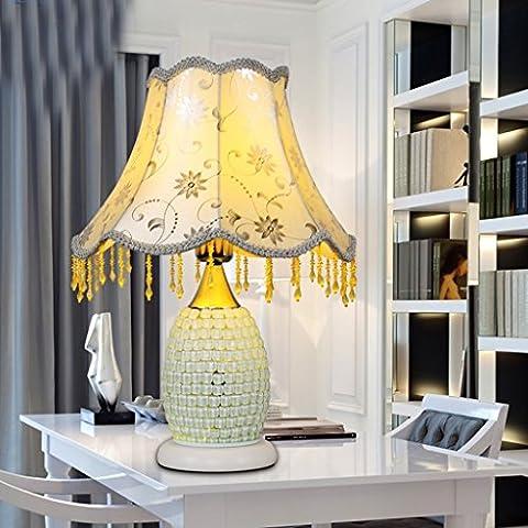 Moderna simple de la manera del alto - regalos de cumpleaños Fin Lámpara de cerámica decorativa dormitorio dormitorio cabecera de estar Sala de