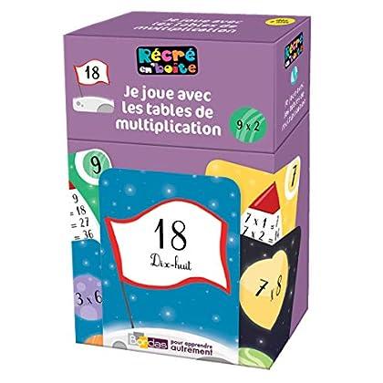 Récré en boîte - Je joue avec les tables de multiplications