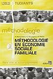 Méthodologie en économie sociale familiale - Filière aide et accompagnement.
