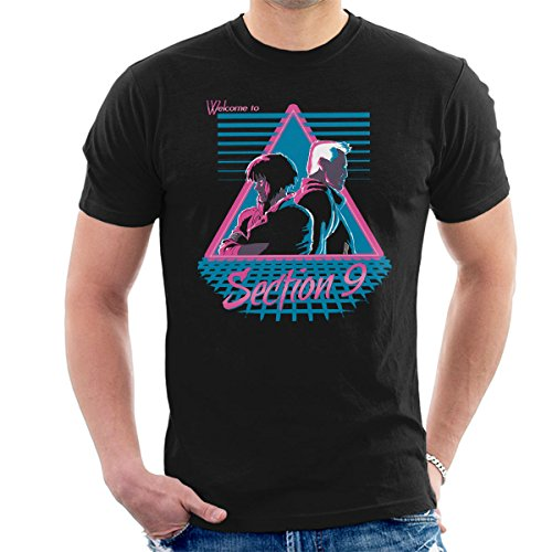 Welcome To Section 9 Ghost In A Shell Men's T-Shirt