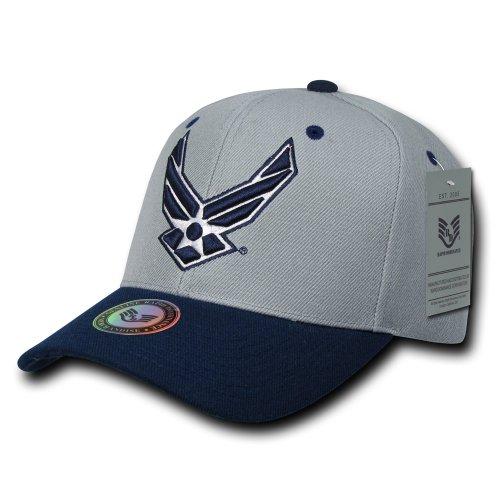 rapid-dominance-entrenamiento-rama-tapas-de-beisbol-hat-s015-airforce-adjustable-us-airforce