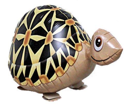 1 Stück AirWalker 'Schildkröte' - Folienballon, mit LOLLIPOP®-Gasfüllung