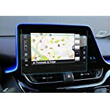 LFOTPP Toyota C-HR NGX50 ZYX10 Navigation Schutzfolie - 9H Kratzfest Anti-Fingerprint Panzerglas Displayschutzfolie GPS Navi Folie