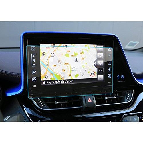 LFOTPP C-HR NGX50 ZYX10 Navigation Schutzfolie - 9H Kratzfest Anti-Fingerprint Panzerglas Displayschutzfolie GPS Navi Folie