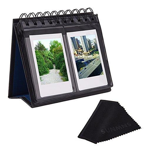 Sunmns Schreibtisch Tischkalender Stil Foto-Album für Fujifilm Instax Mini 7S 8 50s 70 90 26 9/Polaroid Z2300 pic-300p Snap Zip Filme