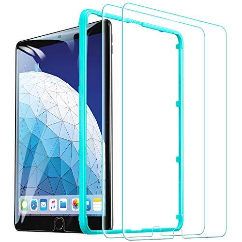 ESR Panzerglas Schutzfolie [2 Stück] kompatibel mit iPad Air 3 2019 / iPad Pro 10.5 Zoll, Premius 9H Hartglas Bildschirmschutzfolie für iPad 10.5