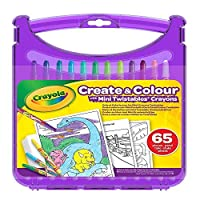 CRAYOLA 04-0378-E-000 Twistables Crayon Sketch and Colour Kit