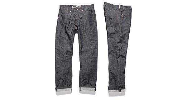 Pantalon Bleu Et Krew Raw Homme BlueVêtements WHE92DI