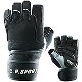 Gym-Handschuh F14 Gr.XL - Fitnesshandschuhe Handgelenk Bandage, Top Krafttraining & Bodybuilding Glove CP Sports