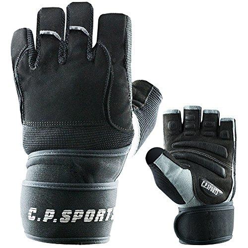 Gym-Handschuh F14 Gr.S - Fitnesshandschuhe Handgelenk Bandage, Top Krafttraining & Bodybuilding Glove CP Sports