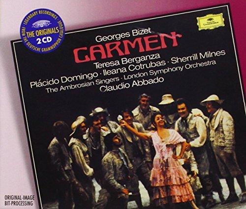 BIZET: Carmen / Abbado, Berganza, Domingo, Cotrubas, Milnes, Harding, London Symphony Orchestra
