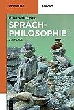 Sprachphilosophie (De Gruyter Studium)