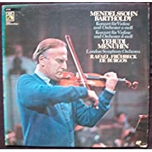 Violin Concerto In E Minor op. 64 , Violin Concerto In D Minor [Vinyl LP]