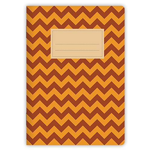 etmamu-498-quaderno-chevrons-colore-rosso-arancione-a5-32-fogli-bianchi