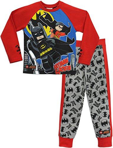Lego Heroes Jungen Lego Batman Schlafanzug Batman & Robin
