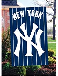 New York Yankees 44x28 Applique Banner Flag by SportsMagicK