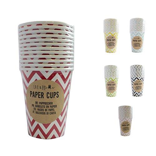 papier-tasses-party-9oz-chevron-rouge-4-pack-48-tasses