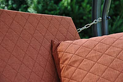 Angerer Trend Joy Hollywoodschaukel Joy, Grau, 3-Sitzer von Angerer bei Gartenmöbel von Du und Dein Garten