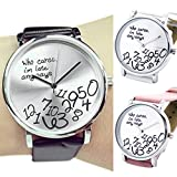 Who-Cares-Womens-Fashion-Faux-Leather-Strap-Letters-Printed-Quartz-Wrist-Watch
