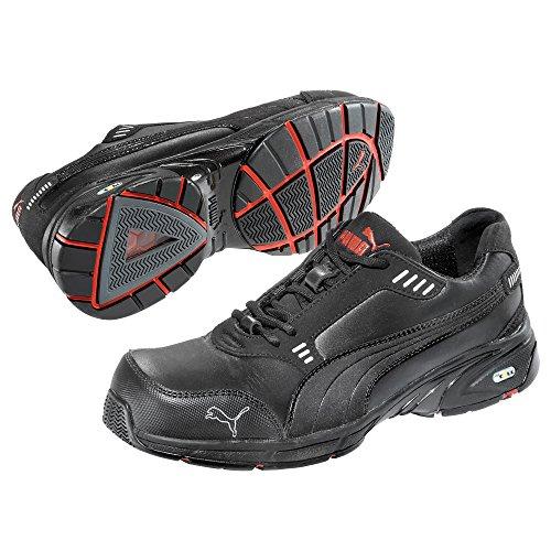 Puma Safety Shoes, 64.257.0, Bassa velocità S3 HRO SRA, Puma 642570-200 unisex adulto scarpe espadrillas, nero (nero 200), UE 45