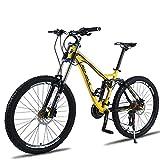 FJW Bicicleta de montaña Unisex, 26 Pulgadas