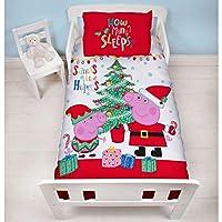 Peppa Pig, Christmas Toddler Bedding - Noel