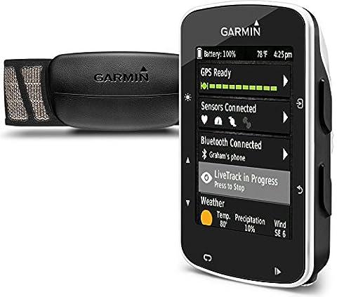 Garmin Edge 520 GPS-Fahrradcomputer - 2,3'' Display, Performance-/Trainingsanalyse, Strava Live