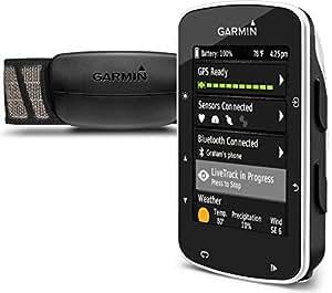 Garmin Edge 520 GPS Bike Computer with Premium Heart Rate Monitor - Black