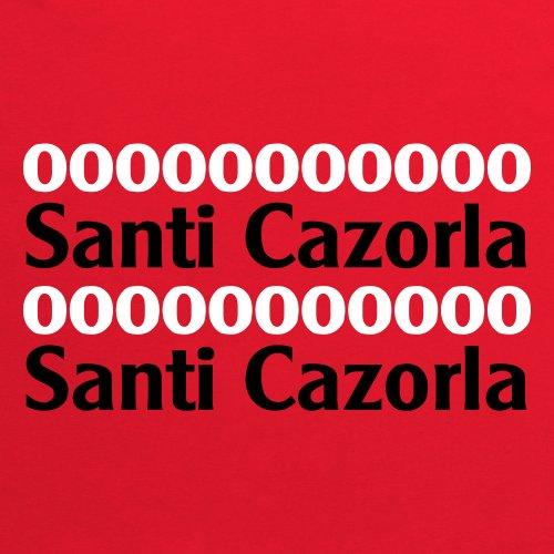 Santi Cazorla T-Shirt, Herren Rot